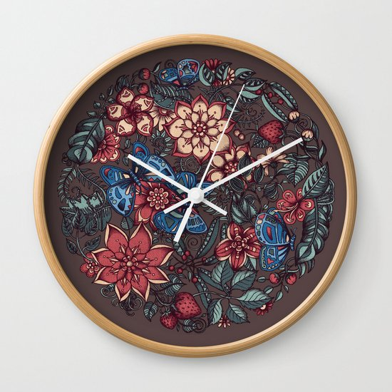 Circle of Friends in Colour Wall Clock