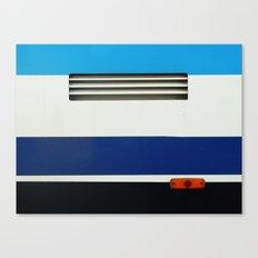 Bus Art Canvas Print