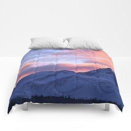 Rose Serenity Sunrise - II Comforters