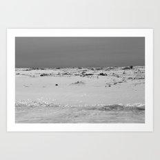 Triple S (Sky, Sand, Sea) Art Print