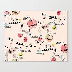 Poppies Print Canvas Print