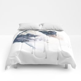 Pug Forest Comforters
