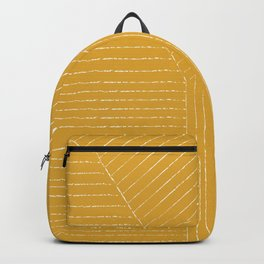 Lines / Yellow Backpack