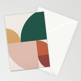 Abstract Geometric 11 Stationery Cards