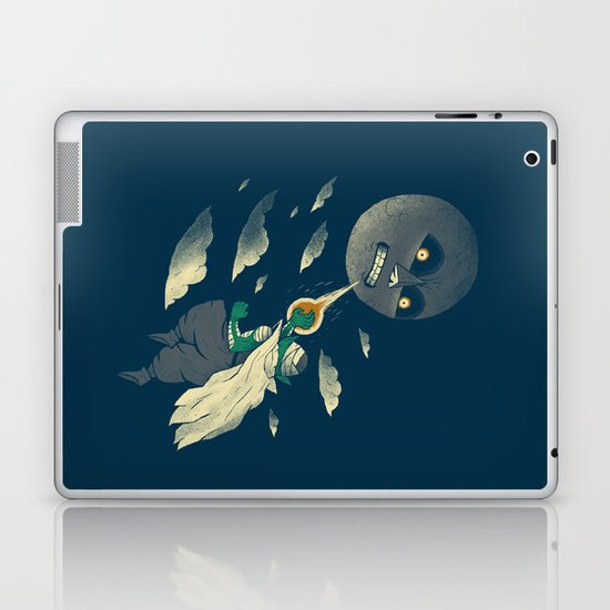 how to defeat the moon Laptop & iPad Skin