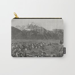 Old Swiss Village Carry-All Pouch