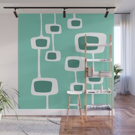 Ambitle - Teal Wall Mural
