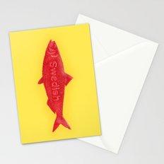 Swedish Fish Stationery Cards