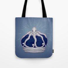 Octopus Crown Tote Bag
