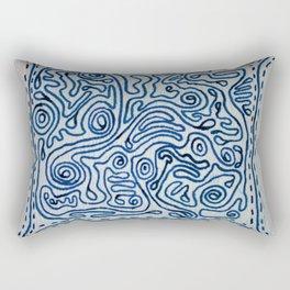Swirlies of Doom Rectangular Pillow