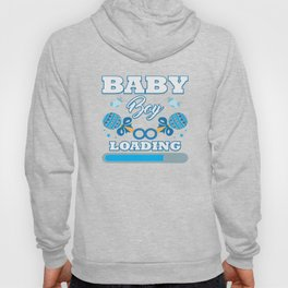 Baby Is Loading Boy Pregnancy Announcement Gift Hoody