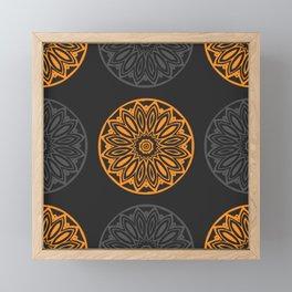 Rosette Framed Mini Art Print