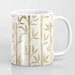 Bamboo Stems – Gold Palette Coffee Mug