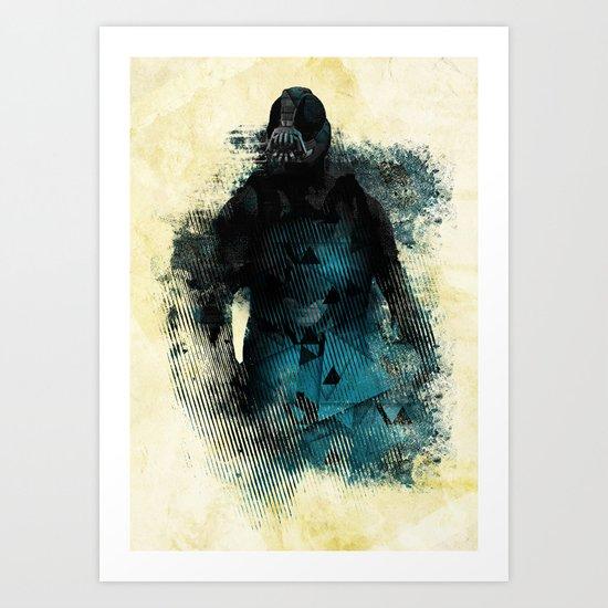 Abstract BANE Art Print