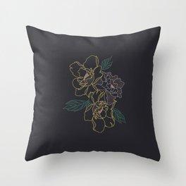 Seesaw - Illustration Throw Pillow