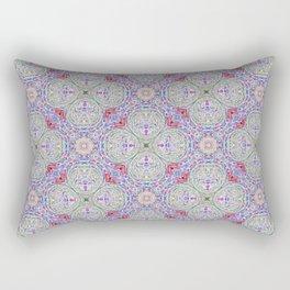 Lavender Hopscotch Rectangular Pillow