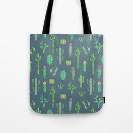Cactus Pattern II Tote Bag