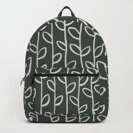 Vines . Olive  Backpack