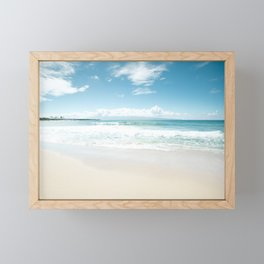 Kapalua Blue Framed Mini Art Print