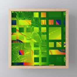 Great Green Frac 5 Framed Mini Art Print