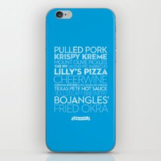 Raleigh — Delicious City Prints iPhone & iPod Skin