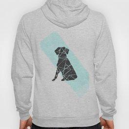 Geometic dog Hoody