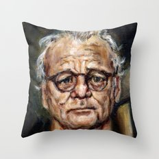 Bill Murray / Walt Bishop - Moonrise Kingdom Throw Pillow
