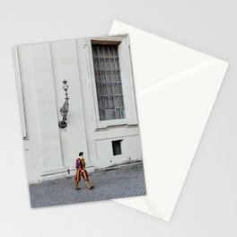 Vatican swiss guards | The Holy City, Italy | On vacation in Rome | Travel and food photography Stationery Cards