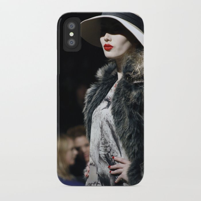 Lady Lips iPhone Case