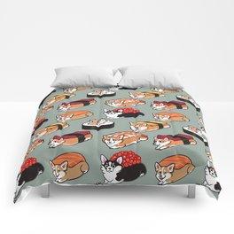 Sushi  Corgi Comforters