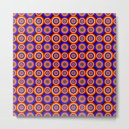 Polka Dots (Illusion Art) Metal Print