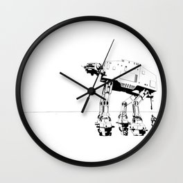 The real dark side - 10,000 mile service line cut Wall Clock