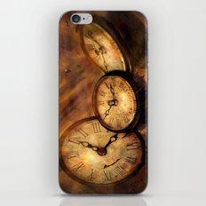 Die Zeit vergeht im Flug iPhone & iPod Skin