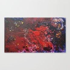 Abstract liquidity. Canvas Print