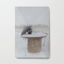 Winter Adventures Metal Print