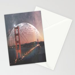 Goldie at sunset Stationery Cards