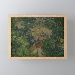 Entrance to a Quarry Framed Mini Art Print