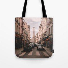 Vintage Paris, France (Color) Tote Bag