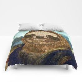 Sloth Lisa Comforters