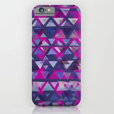 Pink and Purple Triangles Slim Case iPhone 6s