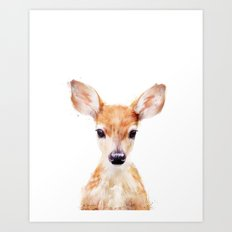 Little Deer Art Print