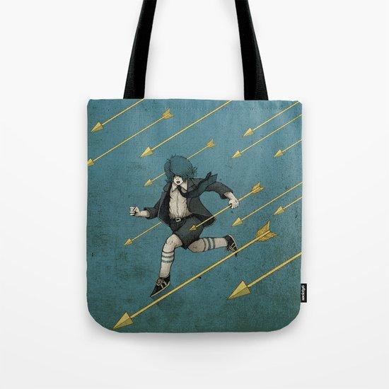 Run. Tote Bag