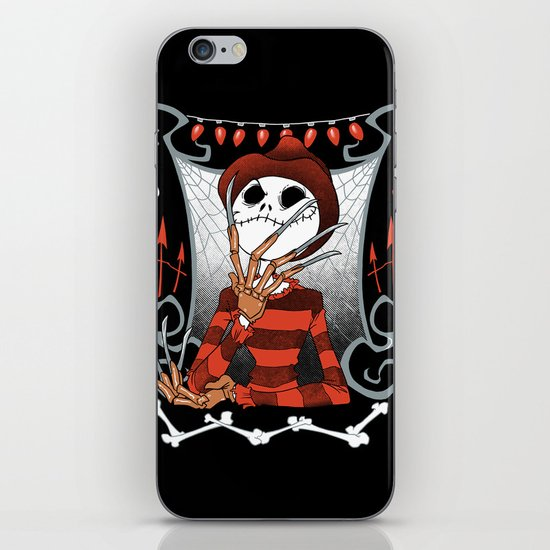 Nightmare King iPhone & iPod Skin