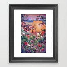 Goji Beach Framed Art Print