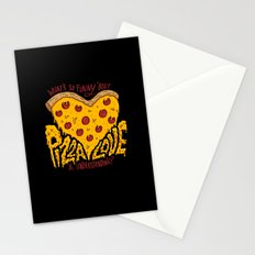 Pizza Love & Understanding Stationery Cards