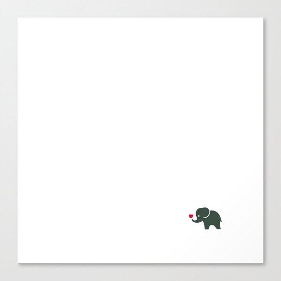 Elliefant Canvas Print