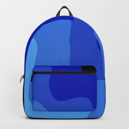 Ocean Moon Abstract Backpack