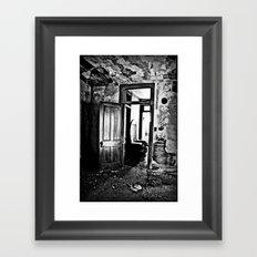 A Peek Into The Past Framed Art Print