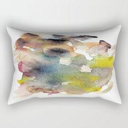 Watercolor multicolor 22 Rectangular Pillow