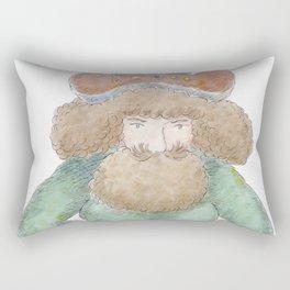 Baba the Turk Rectangular Pillow